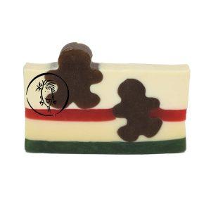 Gingerbread soap slice