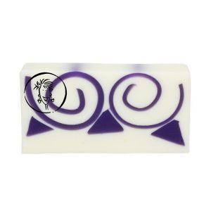 Lilac Soap Slice