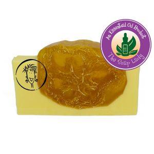 Rosemary Lemongrass Soap Slice