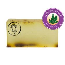 Essential oil anti-fungal soap slice