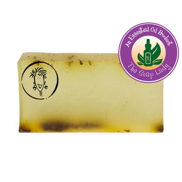 Essential oil anti-fungal soap slice
